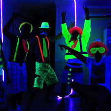 glow in the decorations glow party decorations party ideas hq