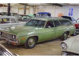 green station wagon 1974 plymouth station wagon for sale classiccars com cc 430003