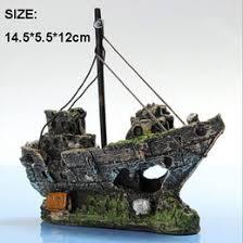 discount fish tank boat ornaments 2018 fish tank boat ornaments