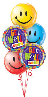 get well soon and balloons get well birthday thank you congratulations balloons bouquets