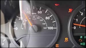 jeep wrangler dashboard lights jeep wrangler dash lights going crazy youtube