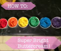 how to super bright buttercream 4 steps with pictures