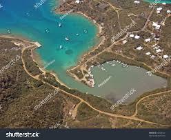 St Thomas Virgin Islands Map Aerial Photo Flamingo Bay On Water Stock Photo 10208755 Shutterstock