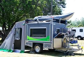 sweet ecombo camper offers 95 square feet of exhilarating solar