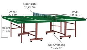 beer pong table size cm everything you need to know about ping pong table dimensions ping