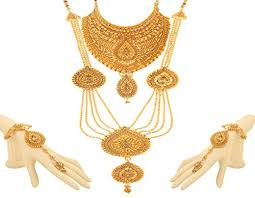 wedding gold set bling n 18k gold plated bridal jewellery traditional