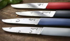 pocket knives and tools kitchen and table knives opinel new table knives bon appetit