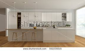 White Kitchen Pics - scandinavian classic kitchen wooden white details stock