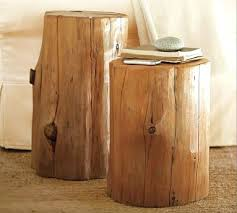 Accent Table Canada Side Table Log Side Table Canada Log Side Table West Elm Log