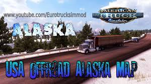 Alaska Map Usa by Ats Usa Offroad Alaska Map Youtube