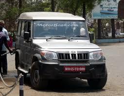 mahindra jeep price list scoop mahindra bolero caught testing clear pics motorbash com
