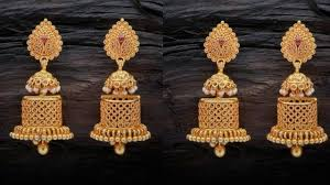 gold earrings for women images daily wear gold earrings designs indian women modern gold