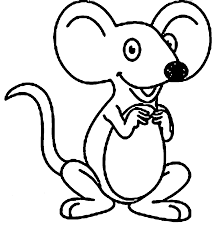 mouse big ears coloring wecoloringpage coloring