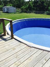 How To Level Ground For A Patio by How To Install A Base For Your Above Ground Pool Liner