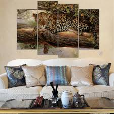 leopard print wall art promotion shop for promotional leopard