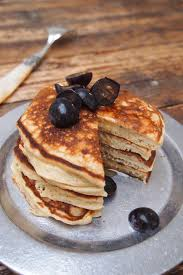 cuisiner sans graisse recettes pancakes healthy et ultra facile à la banane sans sucre sans