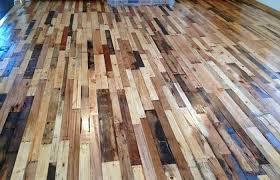 easy to build wood pallet flooring at no cost diy design decor