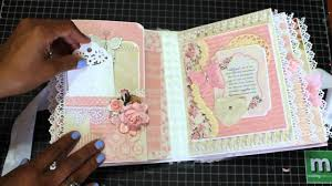 baby girl scrapbook album baby girl mini scrapbook album august 2015 sold