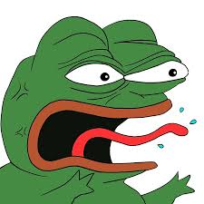 Depressed Frog Meme - pepe frog clipart