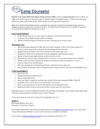 guidance counselor resume after school counselor description for resume best of c