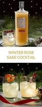 holiday cocktails png winter rose cocktail with sake honey and pine co