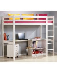 High Sleeper With Desk And Futon Children High Sleeper Beds Loft Beds Cheap Highsleeper Beds
