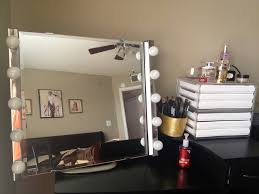 Vanity Mirror With Lights For Bedroom Makeup Mirror Stand With Lights Descargas Mundiales Com