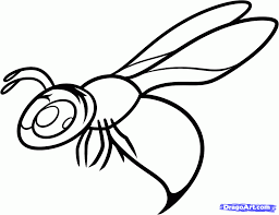 how to draw a wasp for kids step by step animals for kids for