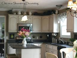 how to decorate above kitchen cabinets u2013 openpoll me