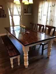 White Dining Room Bench by Dining Table Dining Set With Benches Tufted White Dining Bench