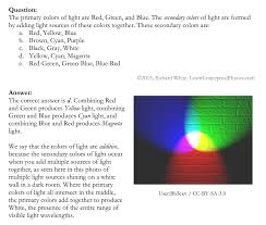 Primary Colors Of Light Learn Conceptual Physics Light And Optics