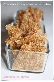 cuisiner sans gluten crackers aux graines sans gluten ma cuisine sans gluten