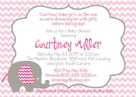 baby shower invites for girl design baby shower invitations for a airl