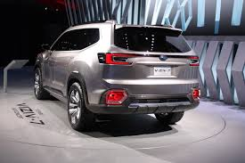 subaru viziv truck 2017 subaru viziv 7 suv concept review top speed