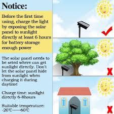 Garden Led Solar Lights by Waterproof Led Solar String Lights 22m 72ft 200 White Leds