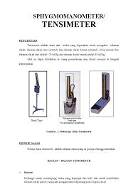 Alat Kalibrasi Tensimeter tensimeter