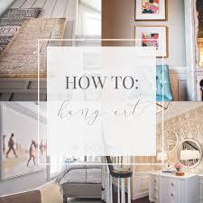 how to hang art u2013 barbour spangle design
