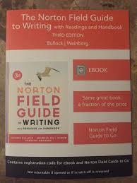 the norton field guide to the norton field guide to writing third edition registration code