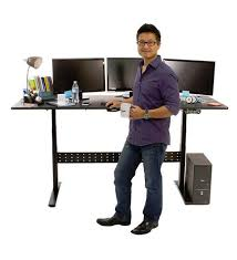 standing desk adjustable height desk geekdesk