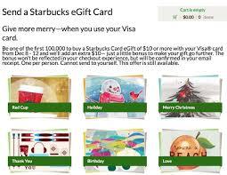 10 bonus when you send 10 starbucks card million mile secrets