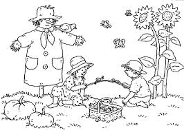 farm coloring pages the sun flower pages