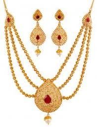 gold set 22k necklace set big 22k gold big necklace and earrings set