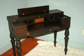 Antique Desk Secretary by Vintage Antique Flip Top Mahogany Writing Desk Secretary Curly