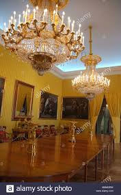 dining room in royal palace of la granja of san ildefonso segovia