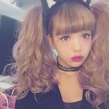 kawaii hairstyles no bangs pin by jadey jades on kawaii makeup pinterest gyaru kawaii