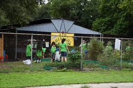 Garden For Family Of 4 Bexar County Youth Give Back To Community During One Day 4 H