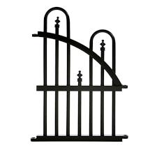 specrail garden perimeter 2 ft h x 1 33 ft w aluminum fence