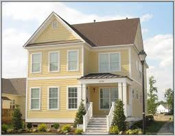 exterior paint colors for house with red roof painting 27768