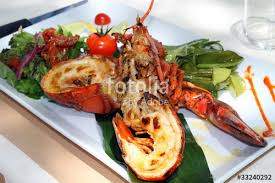 cuisine langouste plancha langouste grillée photo libre de droits sur la banque d images