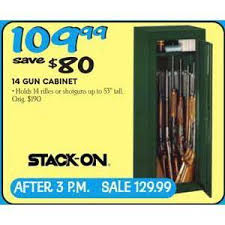 black friday deals on gun cabinets stack on 14 gun cabinet 109 99 valid on black friday 2013 in